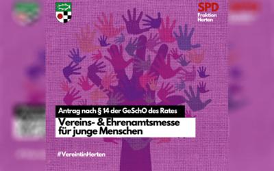Antrag – Vereint(!) in Herten: Vereins- und Ehrenamtsmesse
