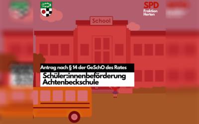 Antrag – Schüler*innenbeförderung Achtenbeckschule